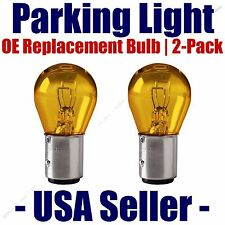 Parking Light Bulb 2-pack OE Replacement Fits Listed Chrysler Vehicles - 1157A