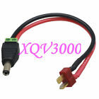 T-Plug Deans Male to DC Power 5.5x2.5mm barrel plug 14AWG wire for FPV monitor