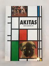 Vintage Akita Book Akita Dog How To Raise 1994 t.f.h Publications