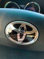 Superior Quality Steering Wheel Emblem Overlay Toyota OEM