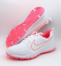 NEW Nike Women's Explorer 2 Lady White/Pink Golf Shoes - Size 8
