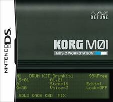 KORG M01 NDS DETUNE Nintendo DS From Japan