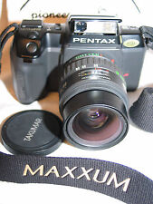 PENTAX sf10 sf 10 35mm SLR CAMERA w/ takumar F zoom 28-80mm 1:3.5-4.5 LENS