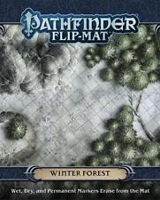 Pathfinder Flip Mat Winter Forest Game by Paizo Publishing PZO 30068
