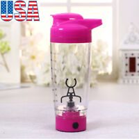 Protein Shaker Blender Mixer Bottle Cup Quality Electric Tornado Nutrition US