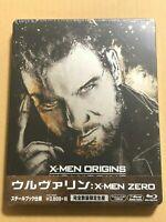 Wolverine X-MEN ZERO Origins Limited Edition Blu-ray Steelbook JAPAN