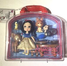 Disney Animators  collection Mini Snow White Doll Playset Free Shipping