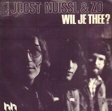 "JOOST NUISSL & ZO – Wil Je Thee?  (1976 VINYL SINGLE 7"" HOLLAND)"