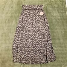 Mossimo Supply Co Womens S Long Maxi Skirt Green Abstract Camo Camoflage