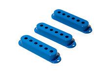 Cubiertas pastillas single coil azules - Blue Single Coil covers Set 50/52mm