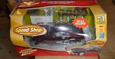 Johnny Lightning 1969 Mustang Speed Shop Metal Kit 1/24 Model Car Mountain Fs