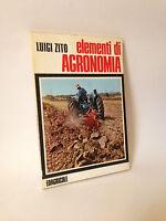 ELEMENTI DI AGRONOMIA - L.Zito [Edagricole, 1973]