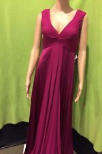 NWT- Aidan Mattox Sleeveless Gown- Pink, Fuschia, Dress Size 6 (Retail > $200)