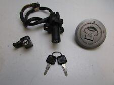 Honda CBR600 CBR 600 FL 1990 Lock Set Ignition Tank Cap and Key  J27