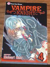 MANGA Vampire Knight vol#4 *FINE L/N* Matsuri Hino VIZ volume v Tomo Kimura