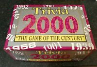 TRIVIA 2000 THE GAME OF THE CENTURY COMPLETE NICE CONDITION PAUL LAMOND GAMES