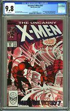 UNCANNY X-MEN #247 - CGC 9.8 - WP - NM/MT - NIMROD MASTER MOLD
