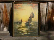 VINTAGE PHOTOGRAPHY SHIPWRECK SS PRINCESS MAY BEACHED BOAT ART POSTER CC7029
