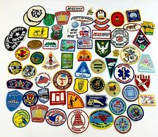 Vintage Patches LOT of 60+ - BSA Boy Scouts, Music, Pilot, Snoopy, Presidential