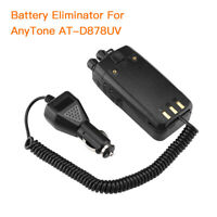 12V Battery Eliminator For AnyTone AT-D878UV 868UV Dual Band Radio Walkie Talkie