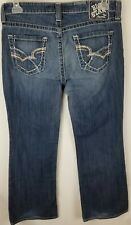 BKE Womens Big Star Maddie Boot Mid Rise Fit Medium Blue Denim Jeans Size 30S