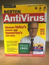 Norton Antivirus 4.0 - Windows 95/3.1/DOS/Windows - NIB