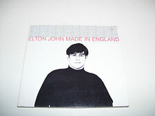ELTON JOHN - MADE IN ENGLAND * 4 track CD MAXI DIGIPACK 1995 *