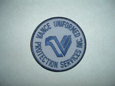 PATCH SECURITY VANCE UNIFORMED PROTECTION SERVICES INC
