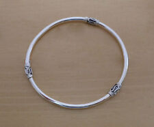 925 Sterling Silver Slave Bali Balinese BANGLE Bracelet Circumference 22 cm