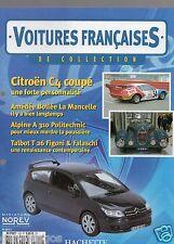 VOITURES FRANCAISES HACHETTE FASCICULE N°122 CITROEN C4 FIGONI A310 2CV NEPTA