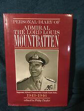 Personal Diary of Admiral The Lord Louis Mountbatten 1943-1946 HB DJ