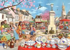 The House Of Puzzles - 1000 PIECE JIGSAW PUZZLE - French Market