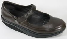 MBT Mary Jane Rocker Women's Shoes Size 9.5 Strap Brown Leather