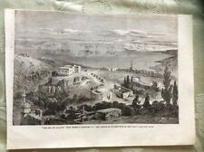 a2g ephemera 1863 picture the sea of galilee from telbin panorama