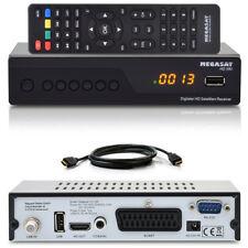 FULL HDTV Digital Sat receiver Megasat HD 390 dvb-s2 1080p USB SCART cable HDMI