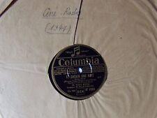 TINO ROSSI : Te chérir une nuit / La petite ville - 78T SHELLAC COLUMBIA DF 1689