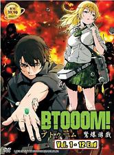 ANIME DVD BTOOOM! Vol.1-12 End Region All English Subs + FREE ANIME