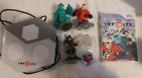 Wii U Disney Infinity 1.0 Starter Pack Kids Game Base & 3 Figures