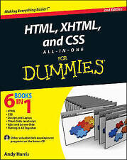 HTML, XHTML and CSS All-In-One For Dummies by Harris, Andy