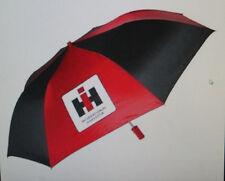 Case IH International Harvester Farmall Travel Umbrella Black and Red Golfing