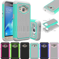Shockproof Rugged Hybrid Hard Case Cover For Samsung Galaxy J1 2016/Luna/Amp 2