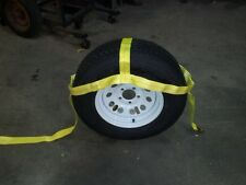 Tire Nylon Straps / Tow Dolly Tire Straps - RV Camping - Towing - Heavy Duty