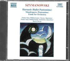 ALBUM CD / SZYMANOWSKI : HARNASIE - MANDRAGORA - ETUDE / NAXOS