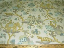 """~20 YDS~P KAUFMANN~ANIMALS """"SULTAN'S WALK""""~COTTON UPHOLSTERY FABRIC FOR LESS~"""