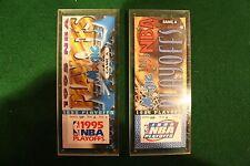 ORLANDO MAGIC COMMEMORATIVE TICKETS IN PLEXI 95-97 Playoffs and 97-98 season