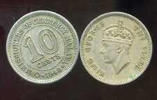 MALAISIE 10  cents 1948  ( bis )
