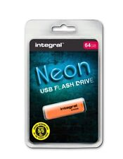 integral neon usb flash drive 64gb Memory Stick Flash Thumb Drive  refaaa11L