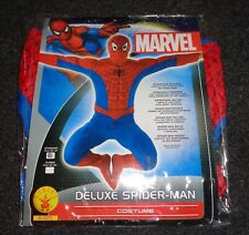 Spiderman Costume - Adult - Rubies Deluxe Marvel CHEST 38 / 42 NEW