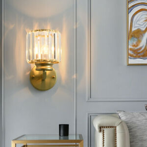 7W LED Wall Sconce Light Fixture Bedside Lamp E26/E27 Bulb Surface Mounted Hotel