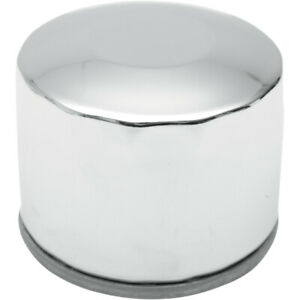 Drag Specialties Oil Filter - Spin-On - Chrome | 140004-BX29